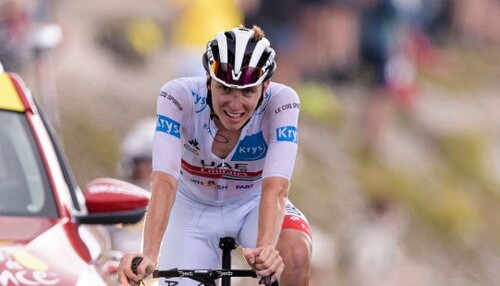 Тур Страны Басков. Погачар обыграл Роглича на третьем этапе