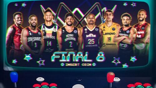 Определились участники Финала восьми баскетбольной Лиги чемпионов
