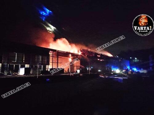 ВИДЕО. В академии Руха в Винниках произошел пожар