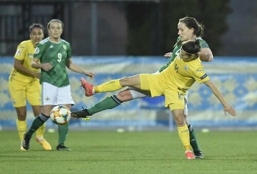 Тяжелое бремя фаворита. Женская сборная Украины проиграла Северной Ирландии