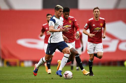 Где смотреть онлайн матч чемпионата Англии Тоттенхэм – Манчестер Юнайтед