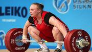 Лысенко принесла Украине еще три медали на ЧЕ по тяжелой атлетике в Москве