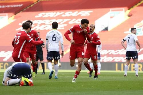 Вырвали победу на 90+1-й. Ливерпуль провел волевой матч с Астон Виллой
