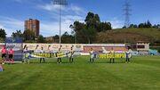 ВИДЕО. Колумбийский клуб выставил на матч 7 игроков, два из них – вратари