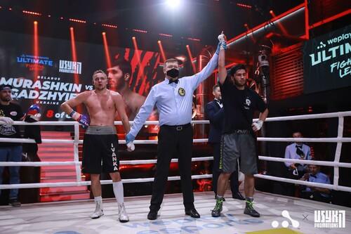 ВИДЕО. Вечер бокса от Усика. Как Рамиль Гаджиев победил белоруса Мурашкина