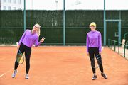 ФОТО. Костюк и Завацкая провели тренировку перед матчем с Японией