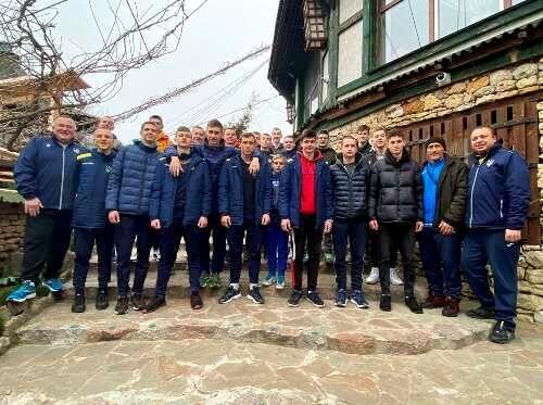 Сборная Украины U-17 начала подготовку ко второму раунду отбора на Евро