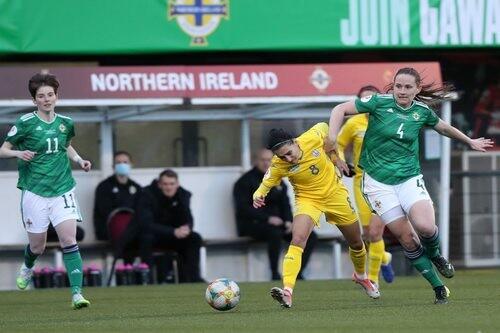 Камбэк не сотворили. Женская сборная Украины уступила Северной Ирландии