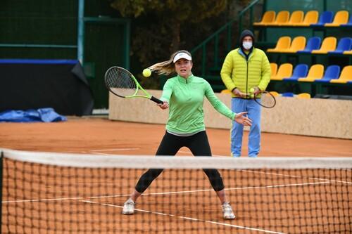 ФОТО. Свитолина и другие украинки продолжают подготовку к матчу с Японией