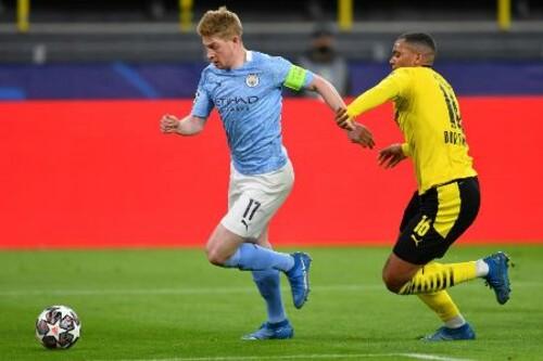 Манчестер Сіті здобув вольову перемогу над Боруссією і вийшов до півфіналу