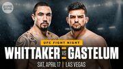 Де дивитися онлайн UFC: Роберт Віттакер – Келвін Гастелум