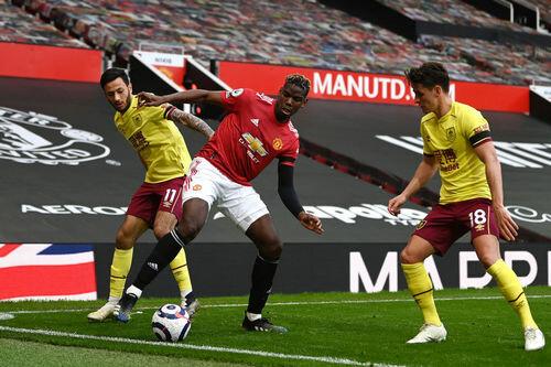 Манчестер Юнайтед обыграл Бернли