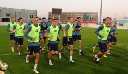 Динамо проведе спаринг з національною збірною