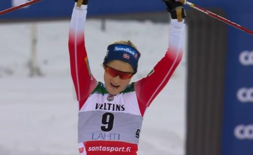 Лыжные гонки. Йохауг триумфально вернулась в Кубок мира