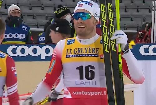 Лыжные гонки. Иверсен выиграл скиатлон в Лахти