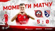 Кривбасс – Таврия – 5:0. Видео голов и обзор матча