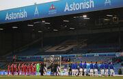 ФОТО. На матче Ливерпуля пролетел самолет с баннером против Суперлиги