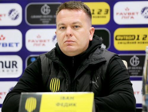 Иван ФЕДЫК: «Ничейный счет – в пользу соперника»