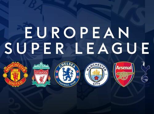 Sky Sports: все 6 английских клубов вышли из Европейской Суперлиги