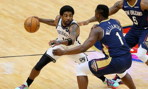 НБА. 32 очка Ирвинга помогли Бруклину победить Новый Орлеан