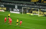 Холанд не забил пенальти. Боруссия Д победила Унион Берлин, цепляясь за ЛЧ