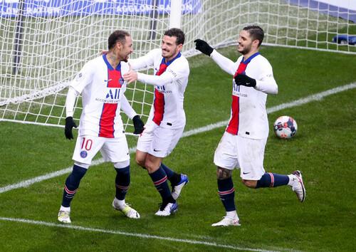 Хет-трик Икарди, гол Неймара. ПСЖ и Монако вышли в полуфинал Кубка Франции