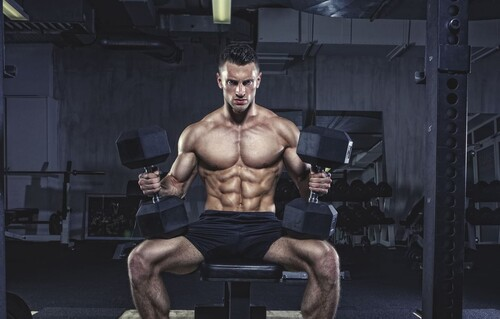 Тренинг с гантелями для проработки всего тела