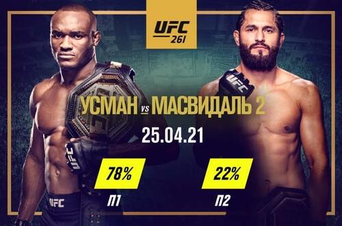 Прогноз на бой UFC 261 Усман – Масвидаль. Возьмет ли Хорхе реванш?