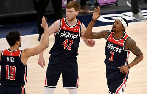 Вашингтон Лэня проводит лучший отрезок в сезоне со времен Джордана