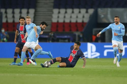 ПСЖ – Манчестер Сити – 1:2. Текстовая трансляция матча