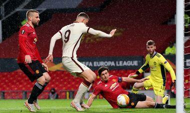 Манчестер Юнайтед – Рома. Видео гола Джеко
