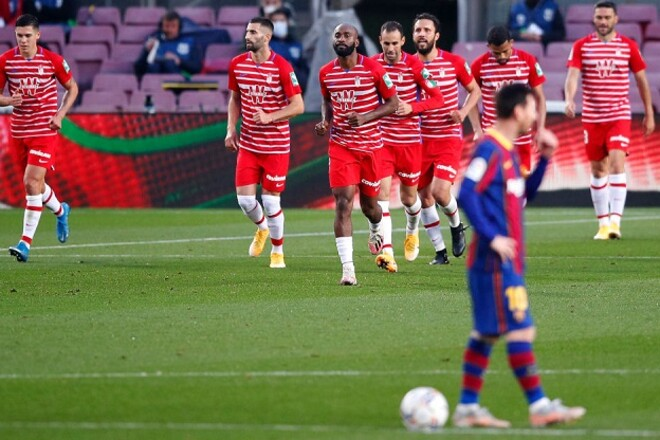 Барселона проиграла Гранаде и потеряла шанс выйти в лидеры Ла Лиги