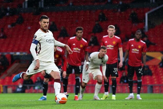 ВІДЕО. Манчестер Юнайтед - Рома. Гості зрівняли рахунок з пенальті
