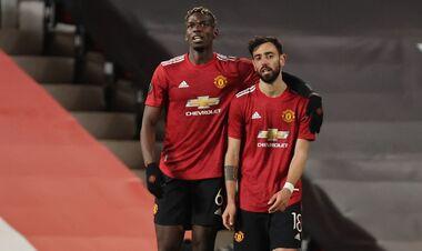 ВИДЕО. Манчестер Юнайтед громит Рому. Гол Погба
