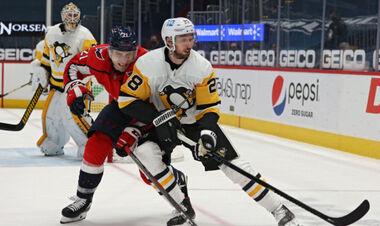 НХЛ. Питтсбург и Вашингтон вышли в плей-офф, победы Сент-Луиса и Бостона