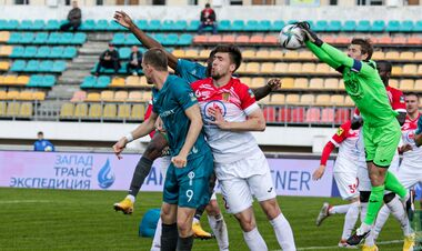 Украинец Слюсарь забил гол во втором подряд матче чемпионата Белоруси