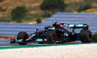 Боттас несподівано взяв поул Гран-прі Португалії