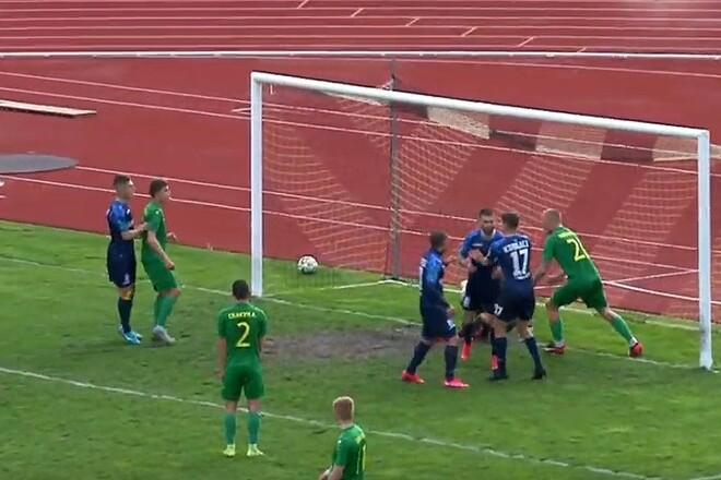 Нива Тернополь – Черноморец – 0:1. Видео гола и обзор матча