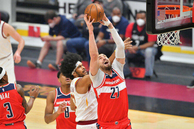 НБА. Вашингтон с Лэнем победил Кливленд, Тейтум из Бостона набрал 60 очков