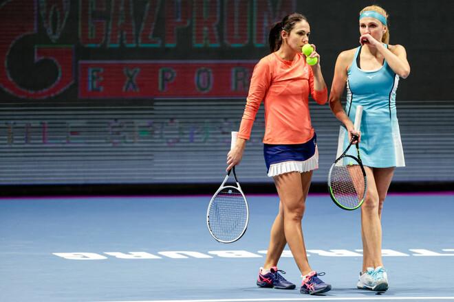 Надя Киченок пробилась во второй раунд парного разряда на турнире в Мадриде