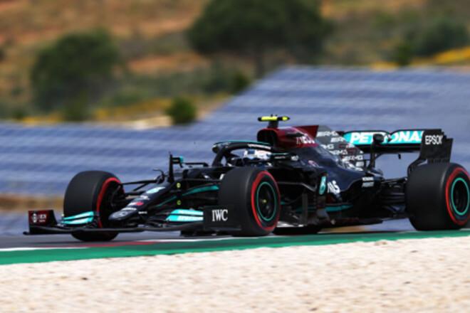 Боттас неожиданно взял поул Гран-при Португалии