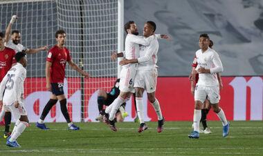 Реал добыл сложную победу и сократил отставание до Атлетико