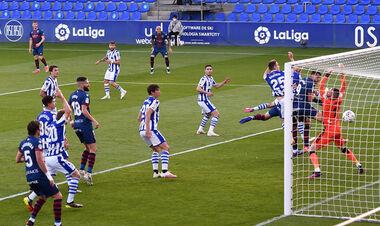 Уеска – Реал Сосьєдад – 1:0. Курйозний автогол. Відео голу і огляд матчу