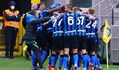Интер досрочно стал чемпионом Италии
