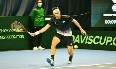 Стаховський стартував з непростої перемоги у кваліфікації турніру в Чехії