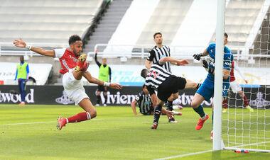 Ньюкасл – Арсенал – 0:2. Обамеянг забивает. Видео голов и обзор матча