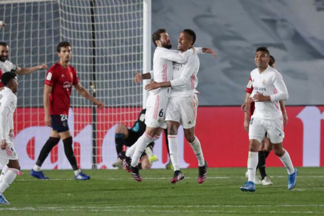 Реал здобув важку перемогу і скоротив відставання до Атлетіко