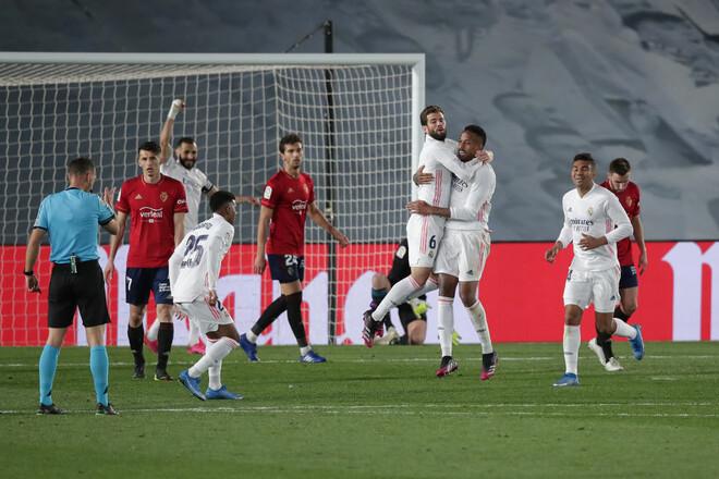 Реал – Осасуна – 2:0. Погоня за Атлетико продолжается. Видео голов и обзор