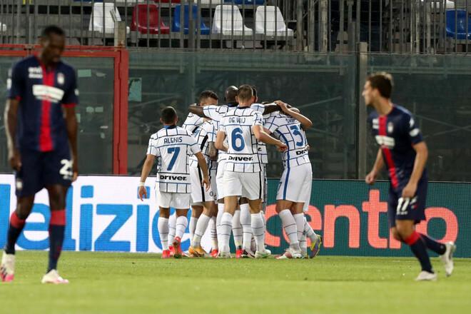 Кротоне – Интер – 0:2. За шаг до скудетто! Видео голов и обзор матча