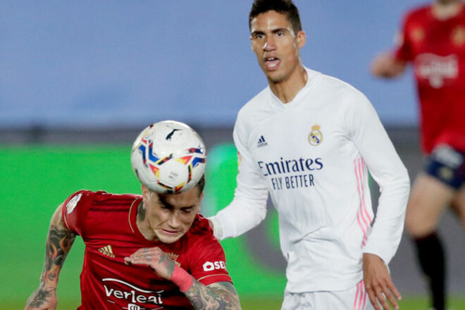 Реал перед ответной игрой с Челси потерял Варана